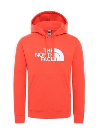 The North Face Drew Peak Pullover Hoodie Erkek Sweatshirt Kırmızı Renkli